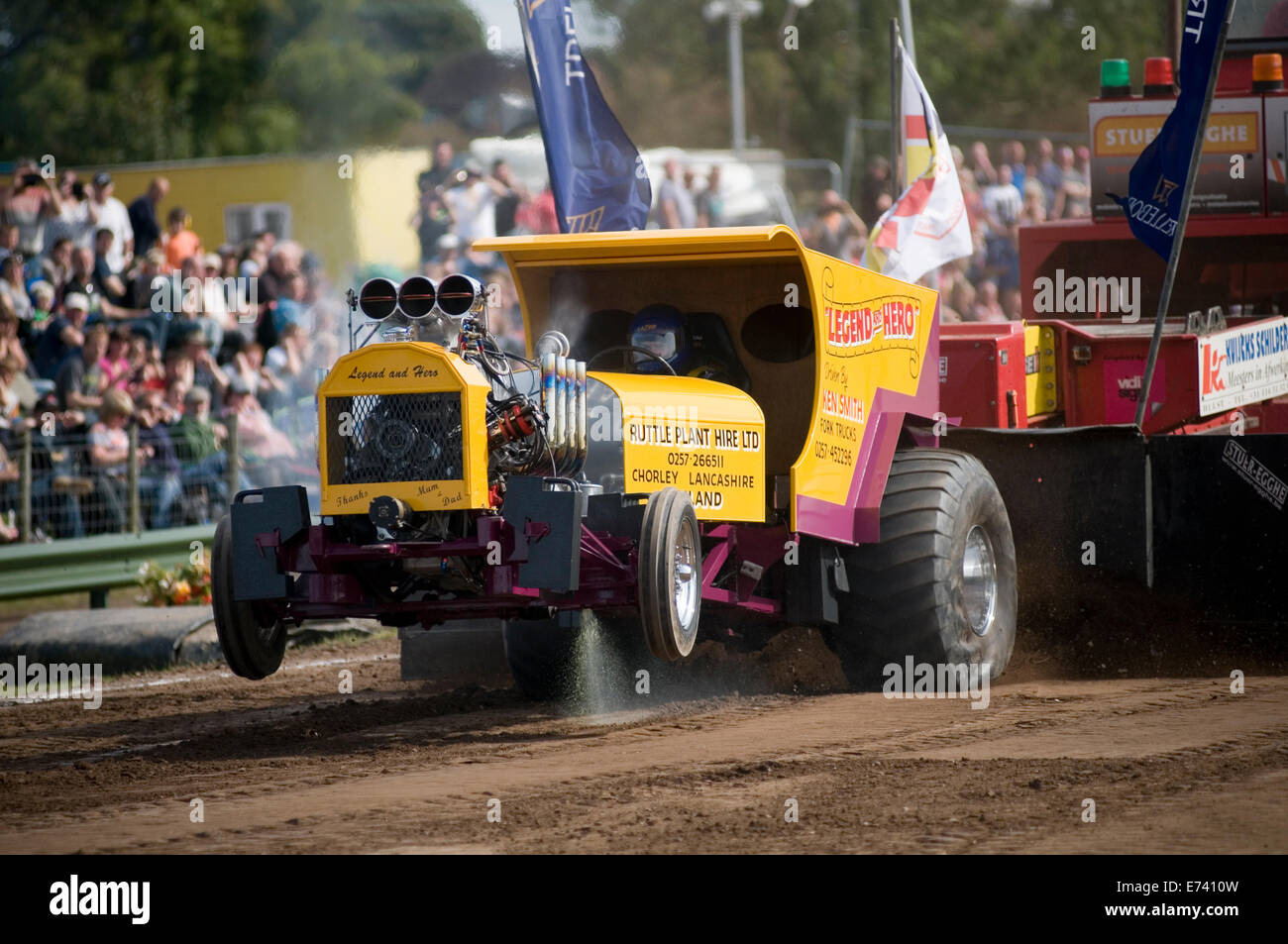 Power Wheels Tractor Pull : Tractor puller pullers pulling wd two wheel drive