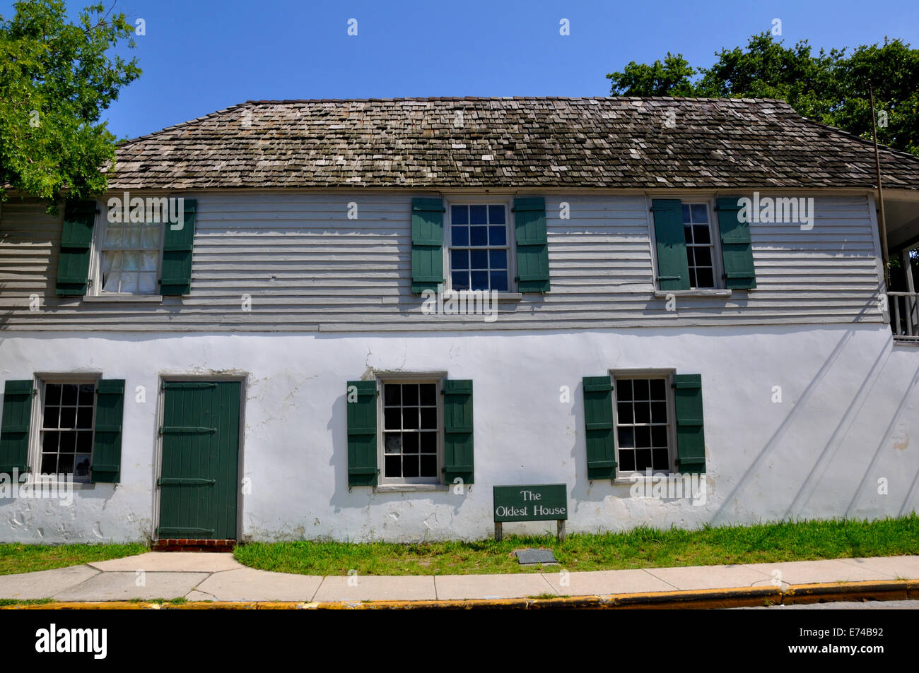 The Oldest House In The US Now Museum St Augustine Florida - Oldest museums in usa