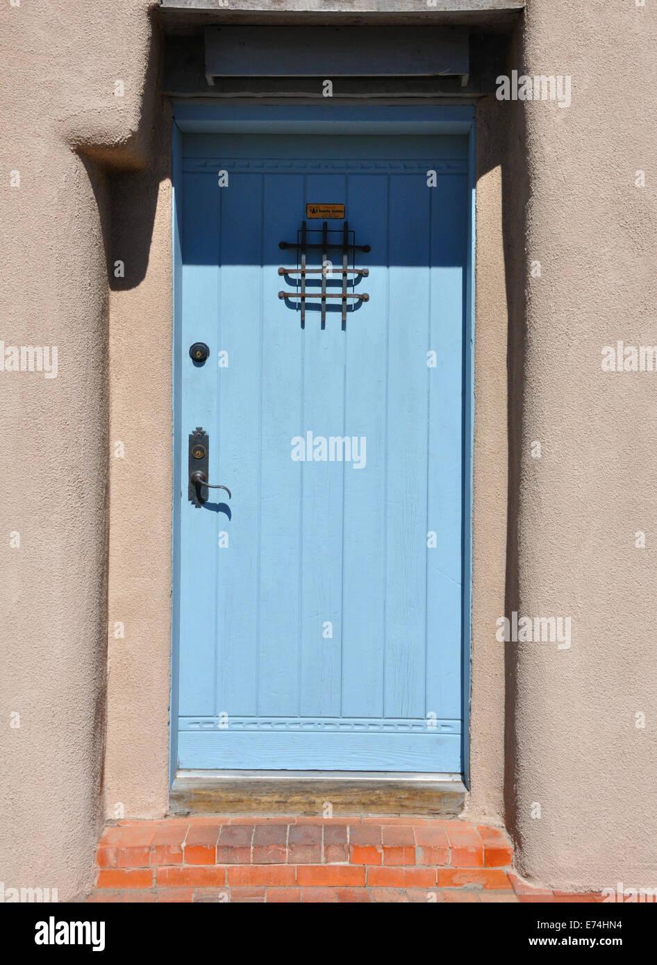 Old door in adobe style house in Albuquerque New Mexico USA & Old door in adobe style house in Albuquerque New Mexico USA ... Pezcame.Com