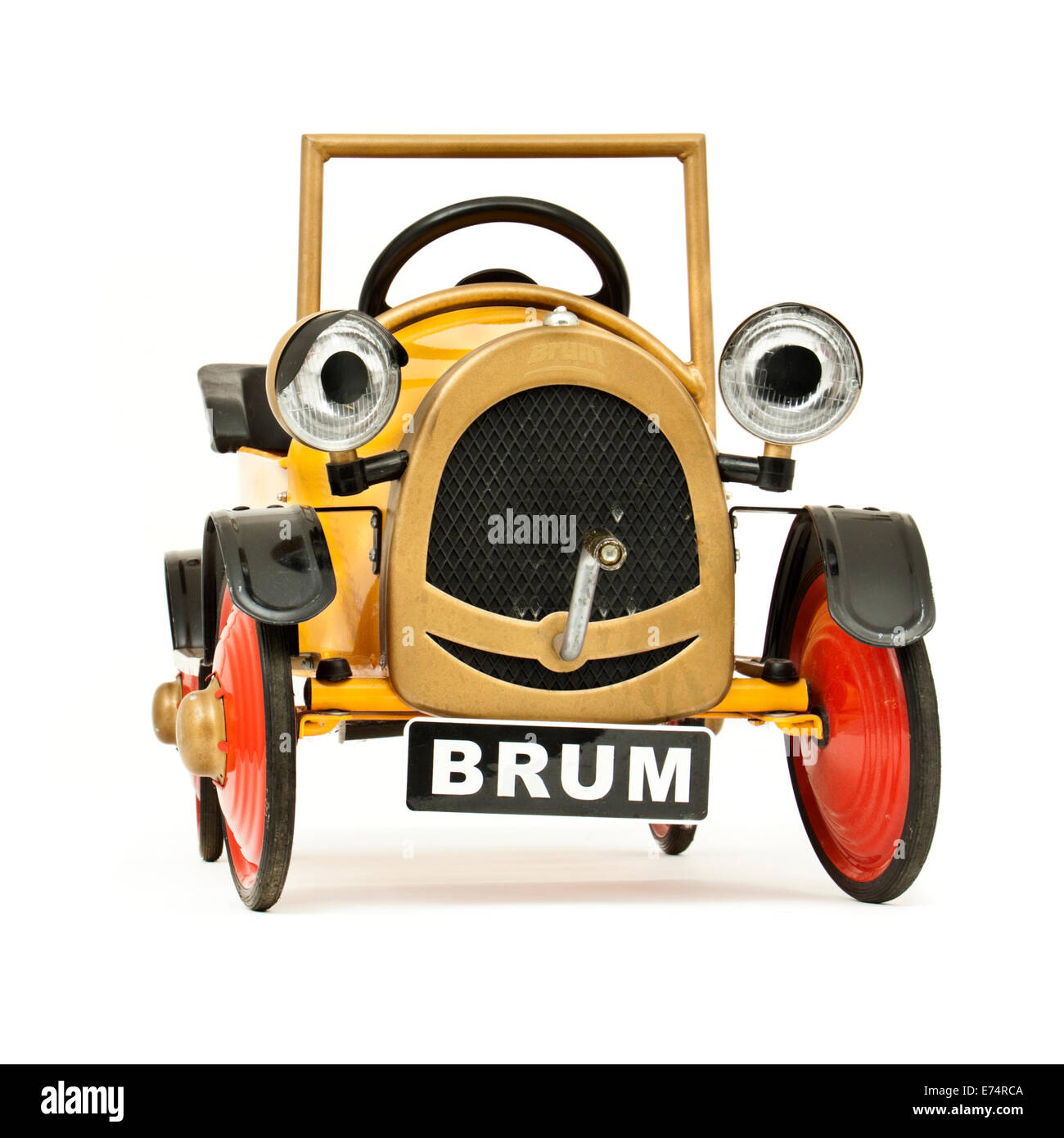 Famous Tv Character Brum In Bourton On The Water Cotswolds Uk