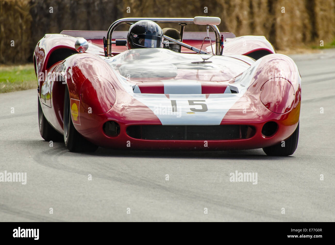 The Lola Was Built For Sports Car Racing Popular In The Mid