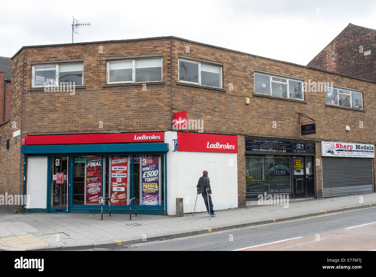 Single manning in betting shops