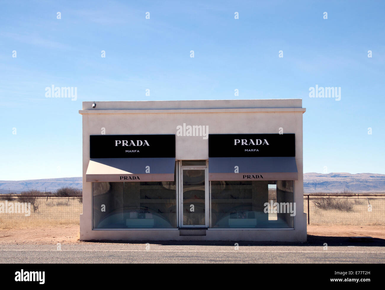 authentic prada handbags online - Prada Marfa Stock Photos & Prada Marfa Stock Images - Alamy