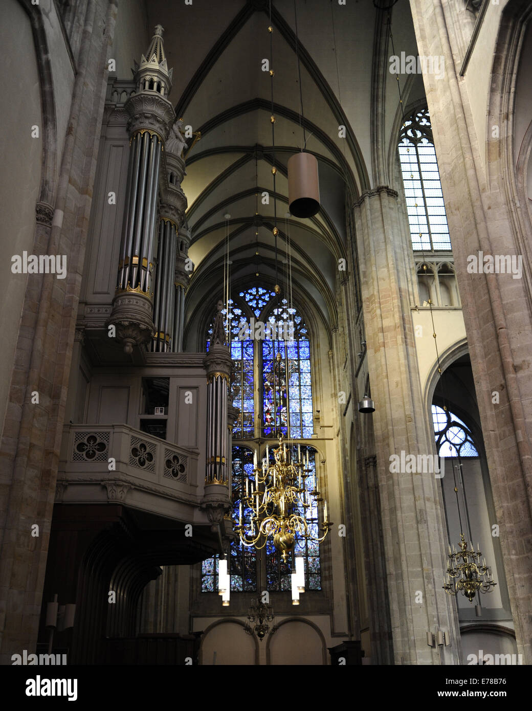 St Martins Cathedral Middle Ages French Gothic Protestant Church Since 1580 Inside
