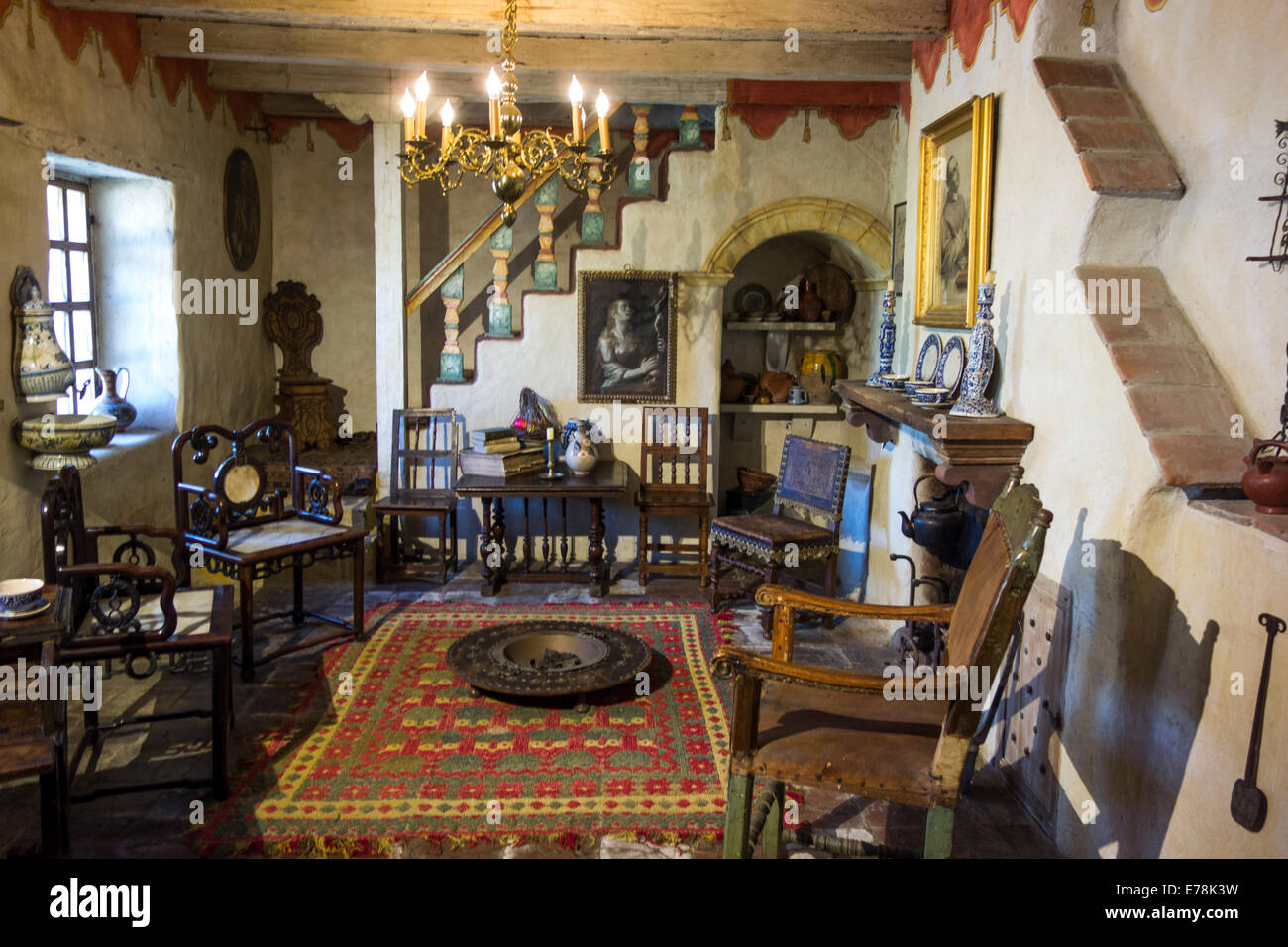 Museum In Historic Old Mission San Carlos Borromeo De Carmelo Founded 1770  In Carmel Valley; Carmel; California; United States