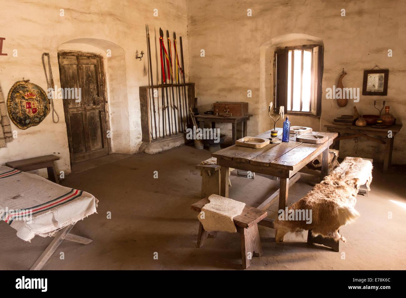 Soldiers Barracks In Historic Mission La Purisima