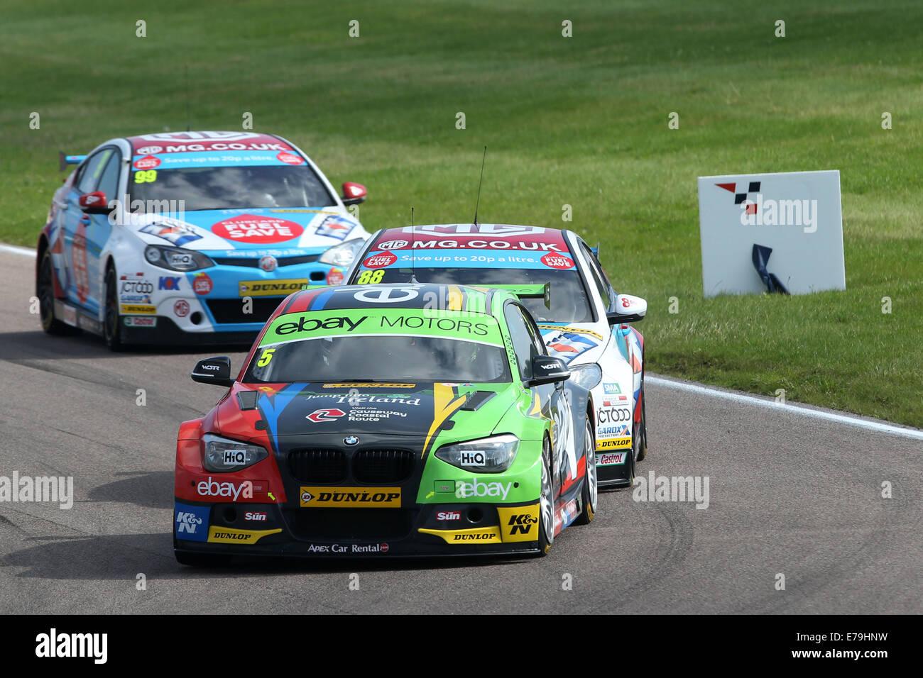 Colin Turkington (GBR) eBay Motors BMW 125i M Sport Stock Photo ...