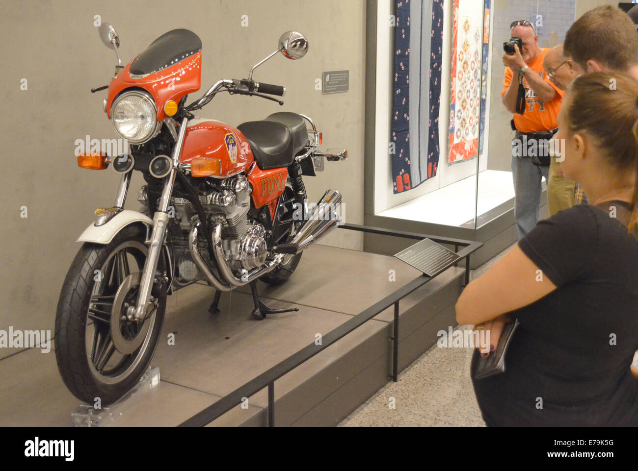 The Dream Bike Is Pictured In The 9 11 Museum In New York Usa
