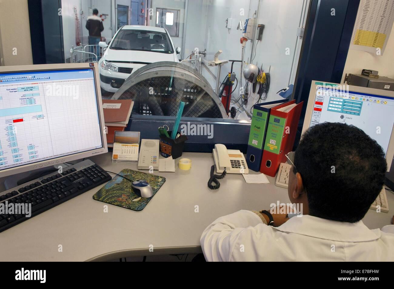 Ispra italy vela laboratory vehicle emissions for Motor vehicle emissions test
