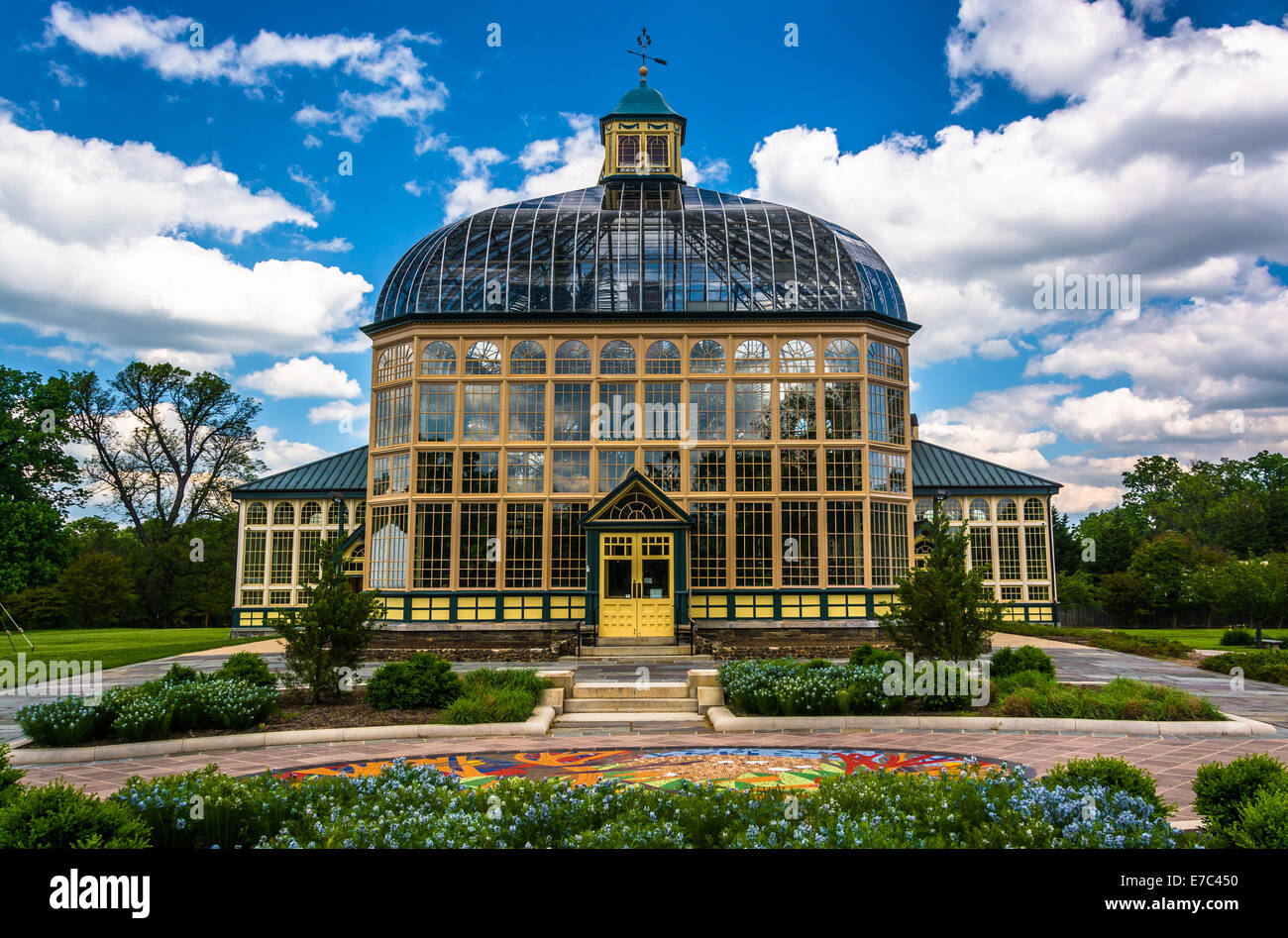 Attirant Gardens And The Howard Peters Rawlings Conservatory In Druid Hill Park,  Baltimore, Maryland
