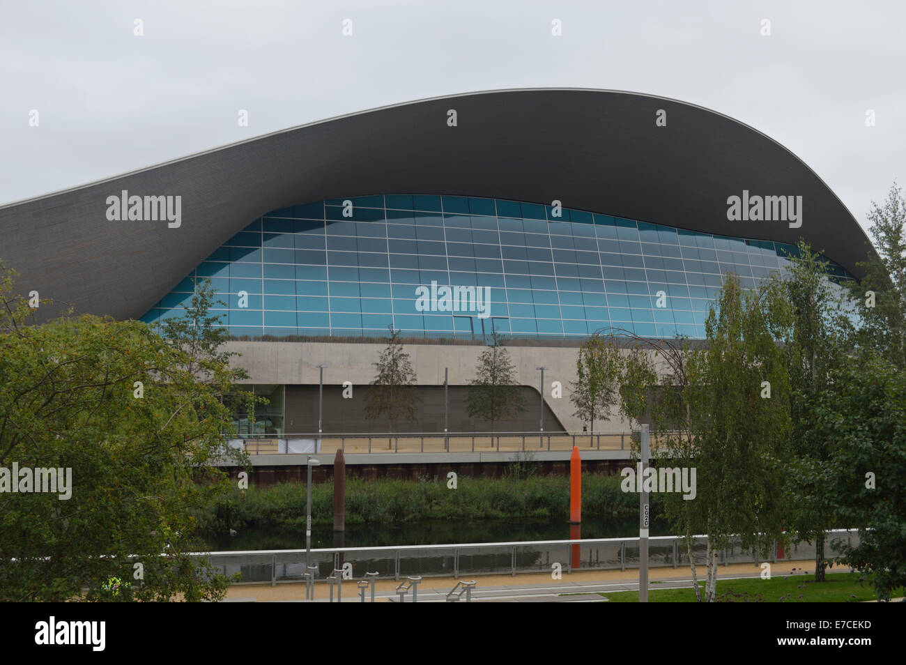 stratford olympic park swimming pool the aquatic centre swimming pool in the olympic park at