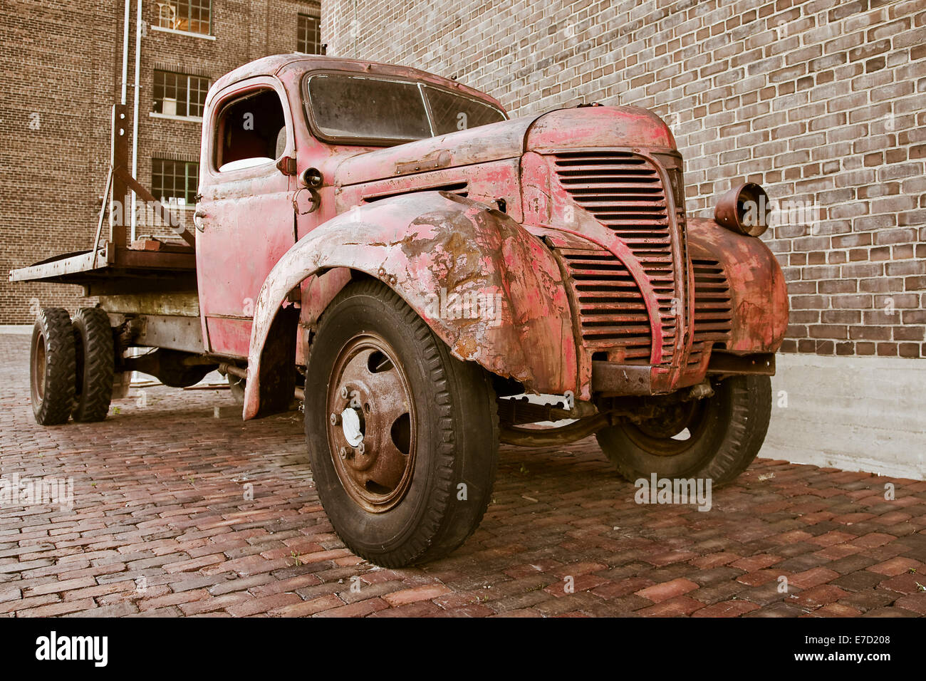 Old rusty truck Stock Photo, Royalty Free Image: 73431016 - Alamy