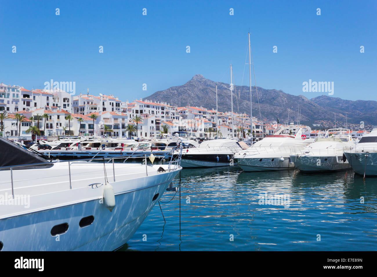 Marbella Malaga Province Costa Del Sol Spain Puerto