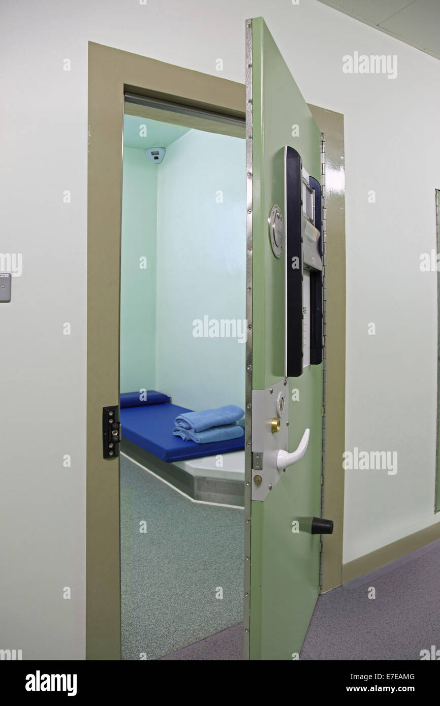 A Prison Or Detention Centre Cell In A Newly Built