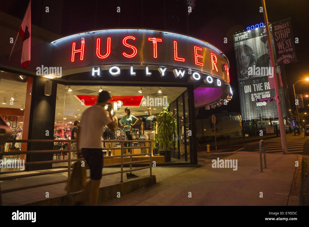 Hustler store in los angeles