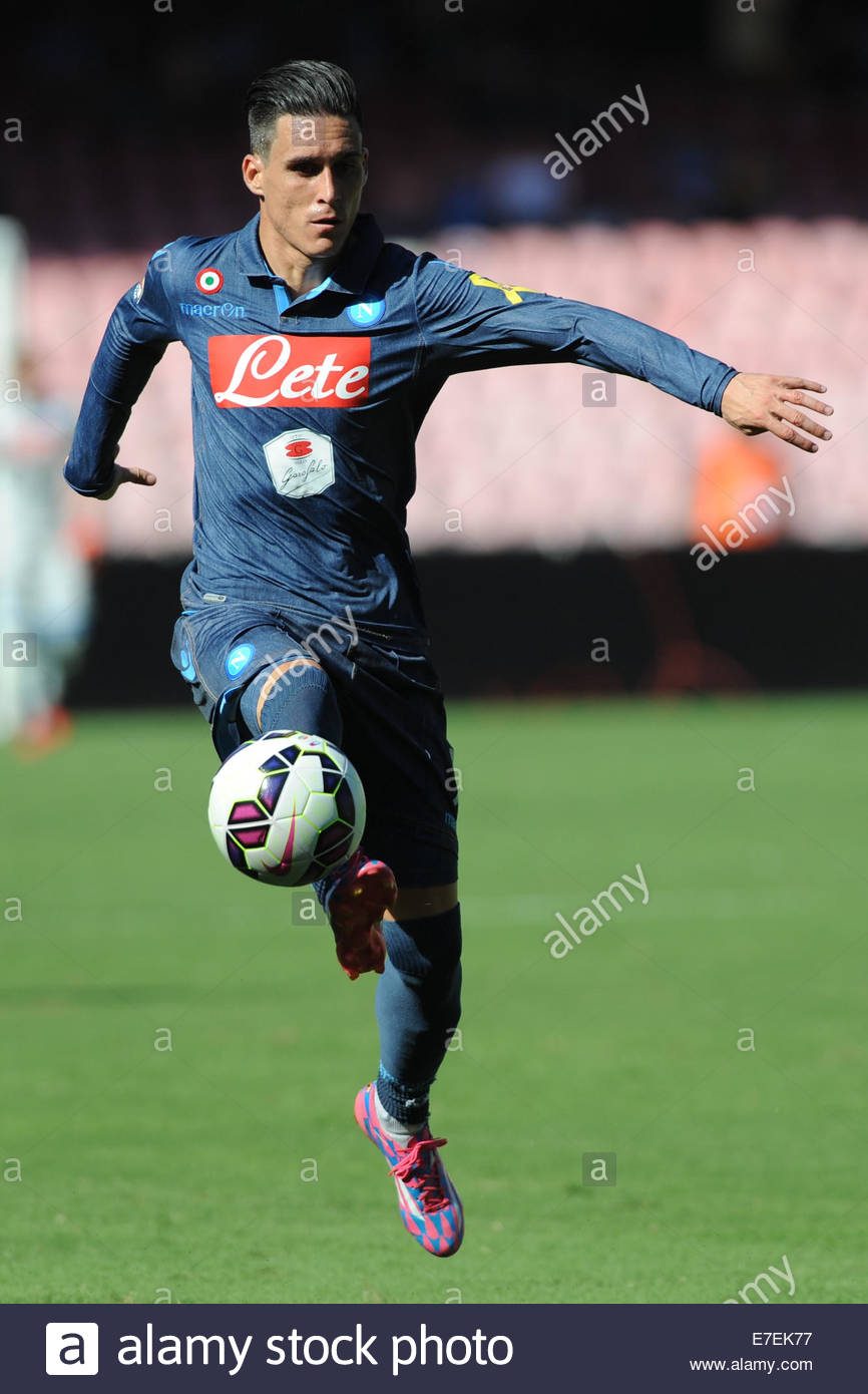Jose Maria Callejon Napoli during the Serie A match between SSC