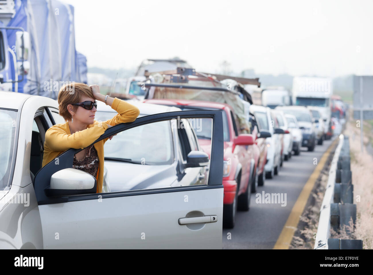 the day i was stuck in a traffic Drivers around the world lost an average of 8 working days a year due to traffic congestion, a new survey found congestion has become a major problem in europe with 8 out of 10 of the world's.