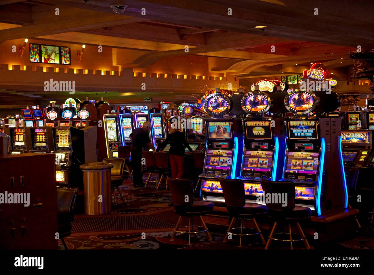 excalibur casino games