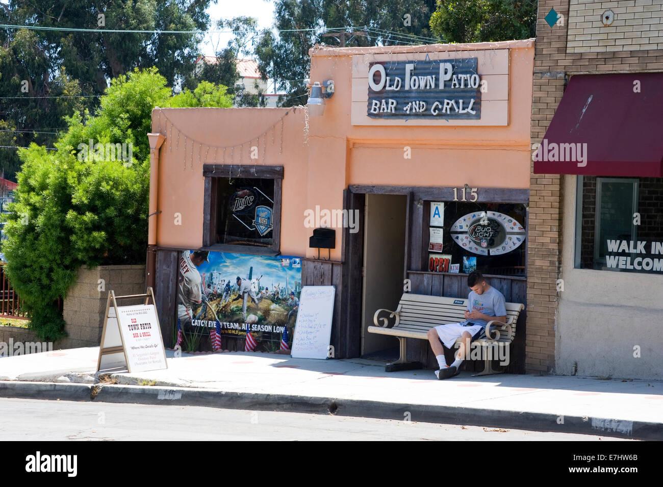 Old Town In El Segundo, California