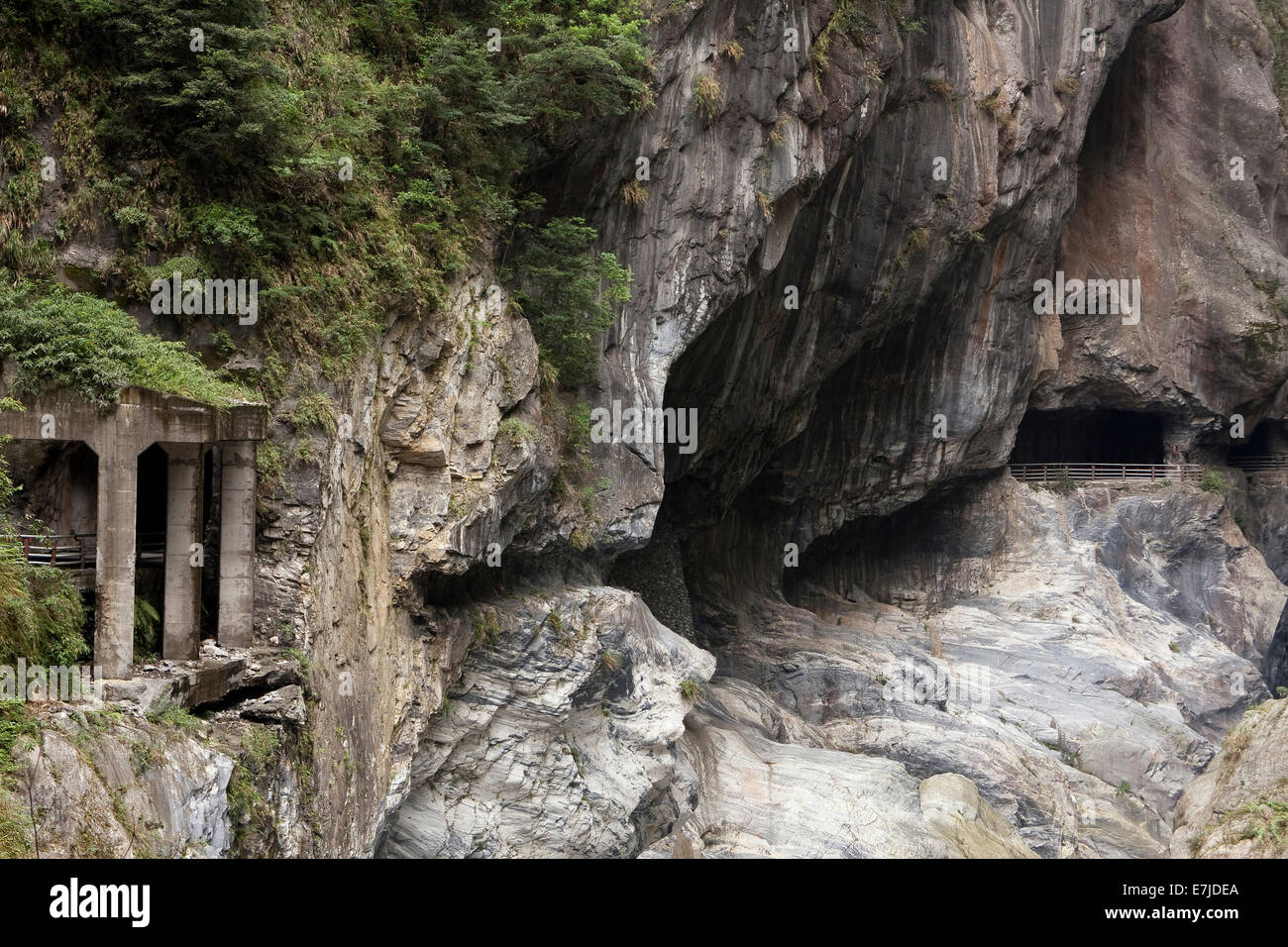 Asia, China, Chinese, rocks, cliffs, rock formations ...