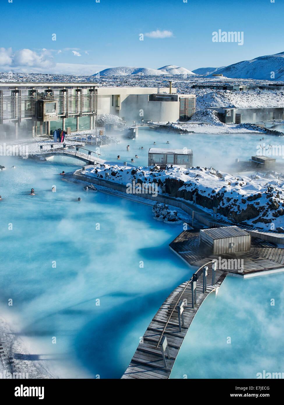 Souvent Blue lagoon, Blue, Polar sea, Grindavik, Gruindavik, island  ZR24