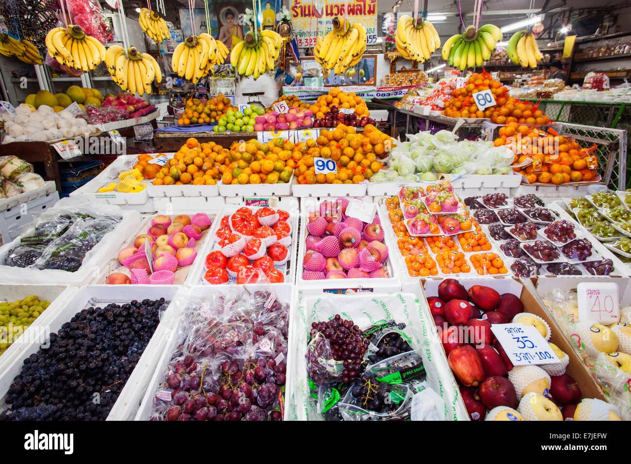 Asia thailand chiang mai warorot market market for Shopping cuisine