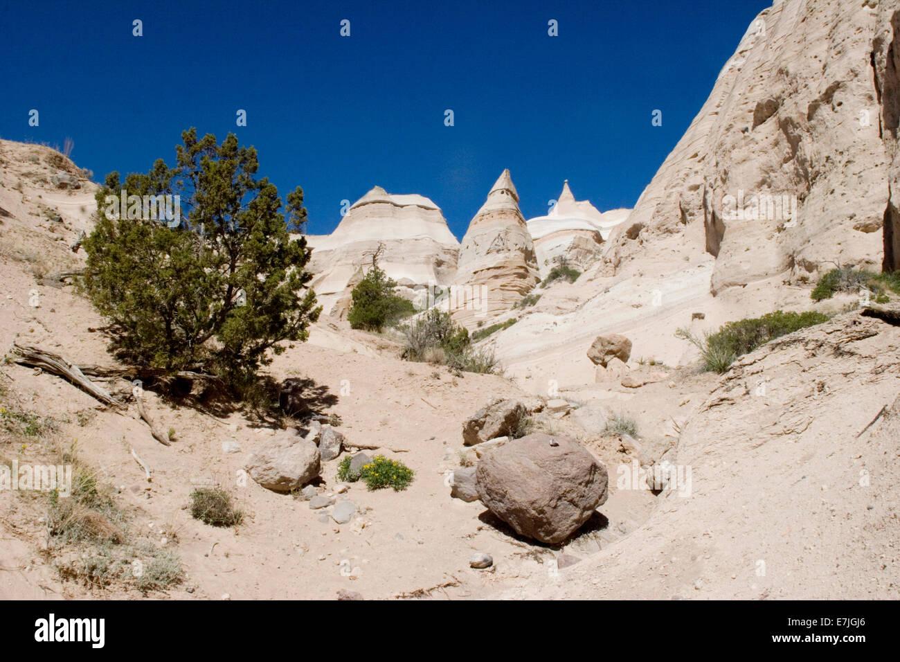 Kasha-Katuwe Tent Rocks National Monument near Santa Fe New Mexico & Kasha-Katuwe Tent Rocks National Monument near Santa Fe New ...