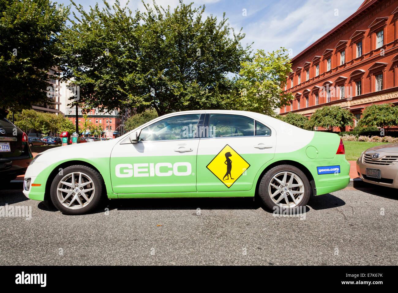 Insurance company stock photos insurance company stock images geico insurance company car washington dc usa stock image biocorpaavc Choice Image