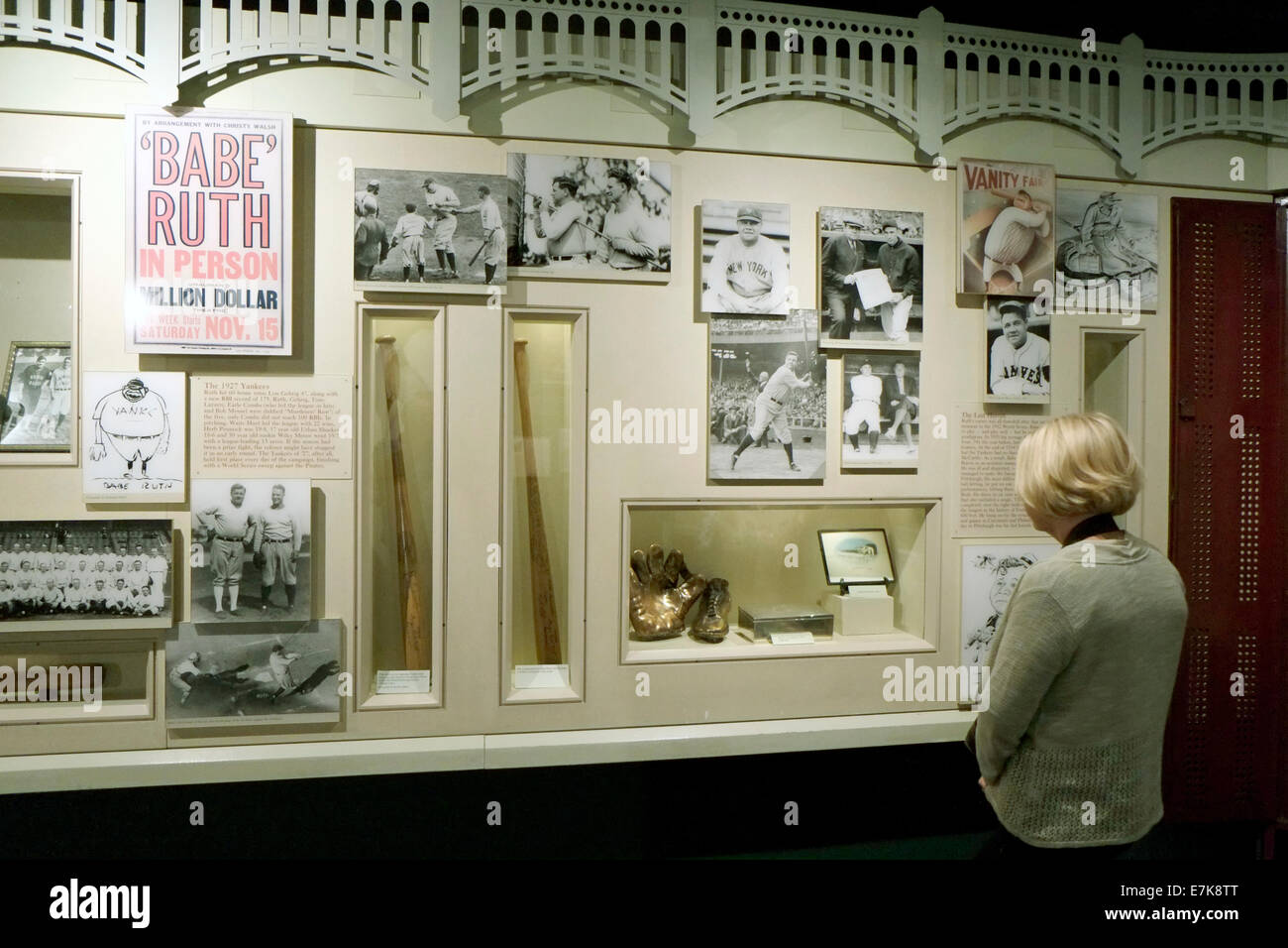 National Baseball Hall Of Fame Museum At Cooperstown New York