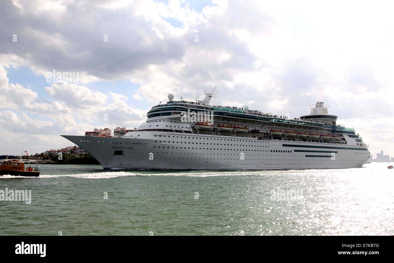 MS Majesty Of The Seas Is A Sovereignclass Cruise Ship Owned And - Ms sovereign cruise ship