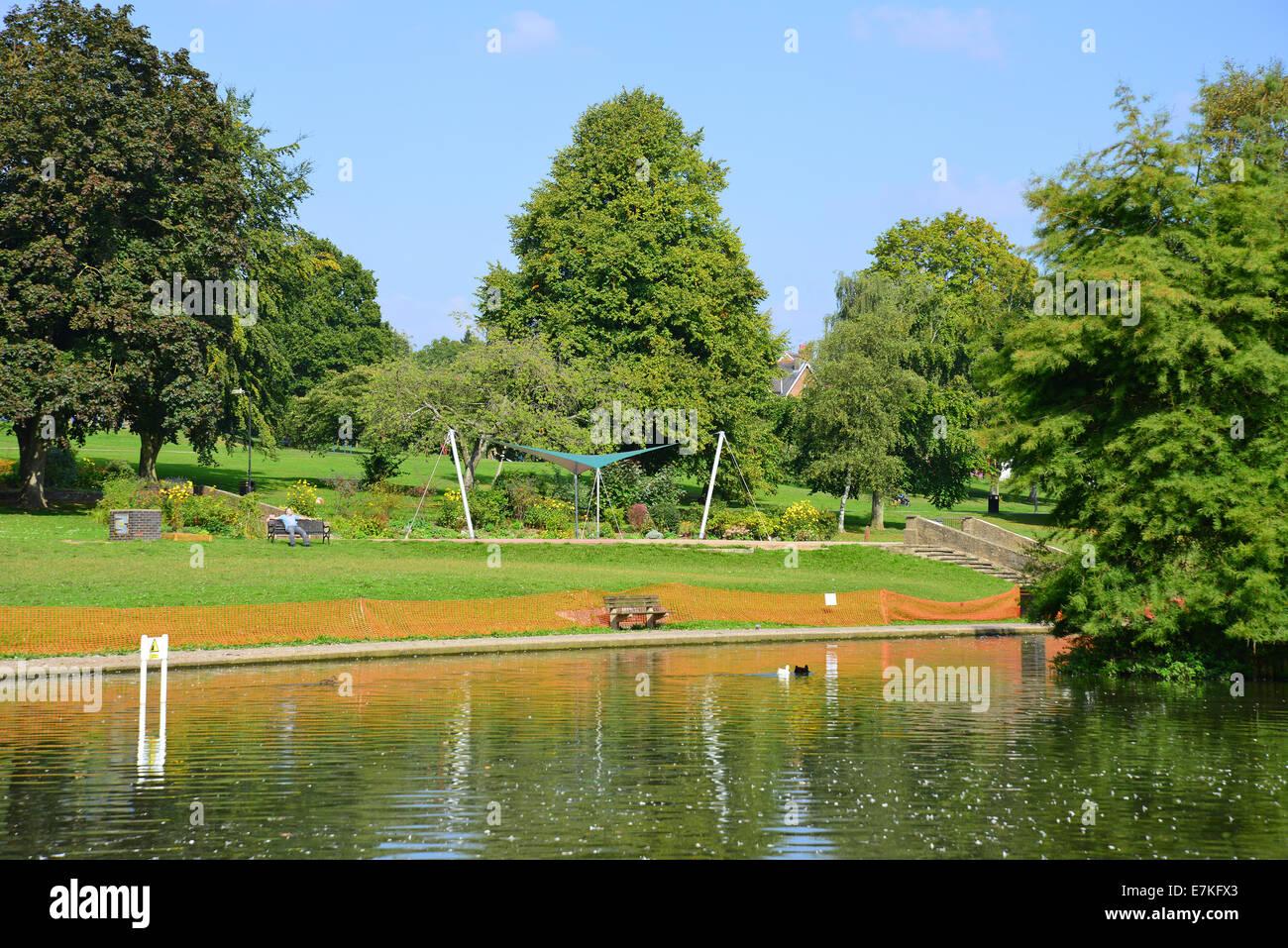 Chesham United Kingdom  city images : Lowndes Park, Chesham, Buckinghamshire, England, United Kingdom Stock ...