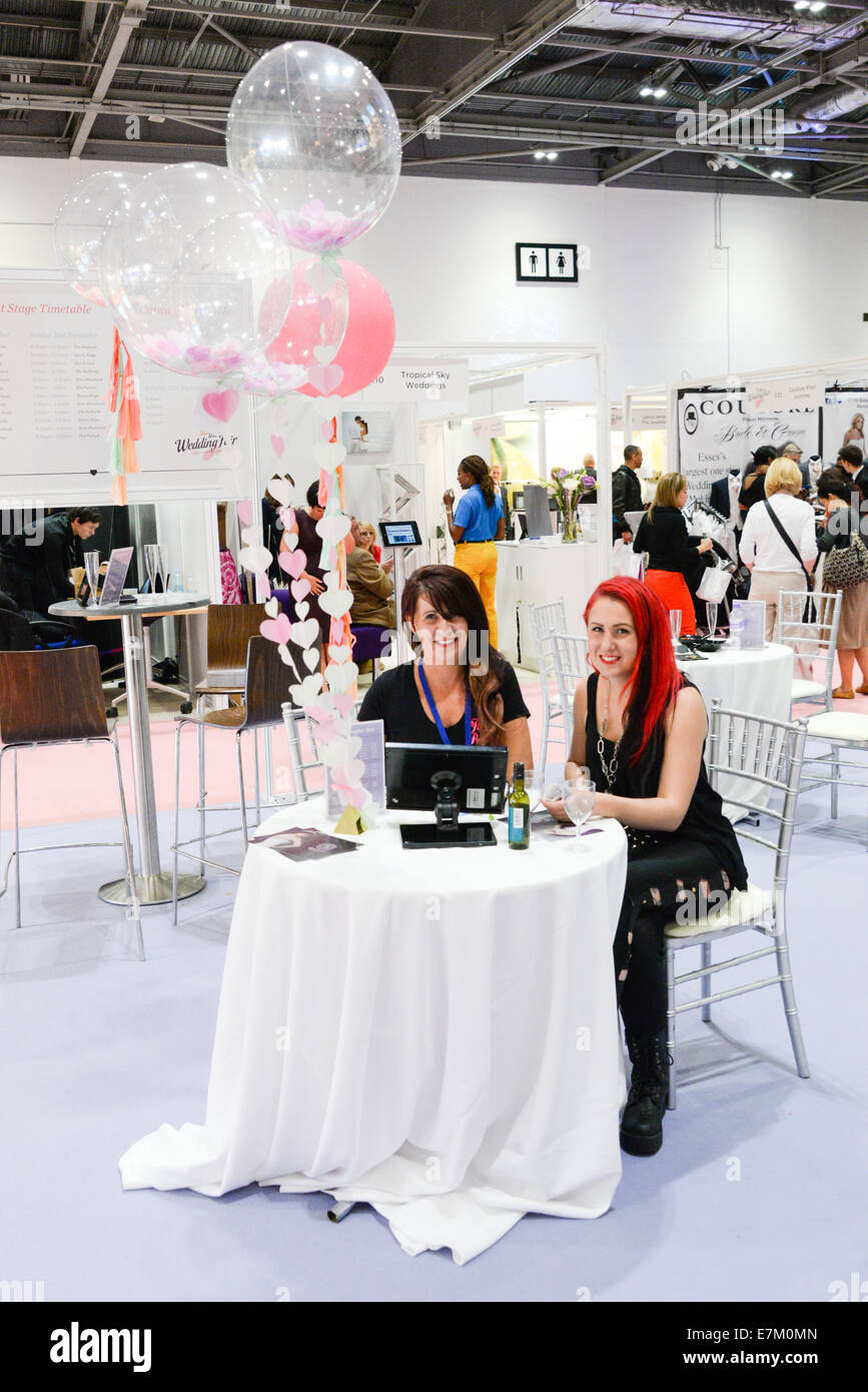 Wedding Exhibition Stall : London uk th september a stalls exhibition at
