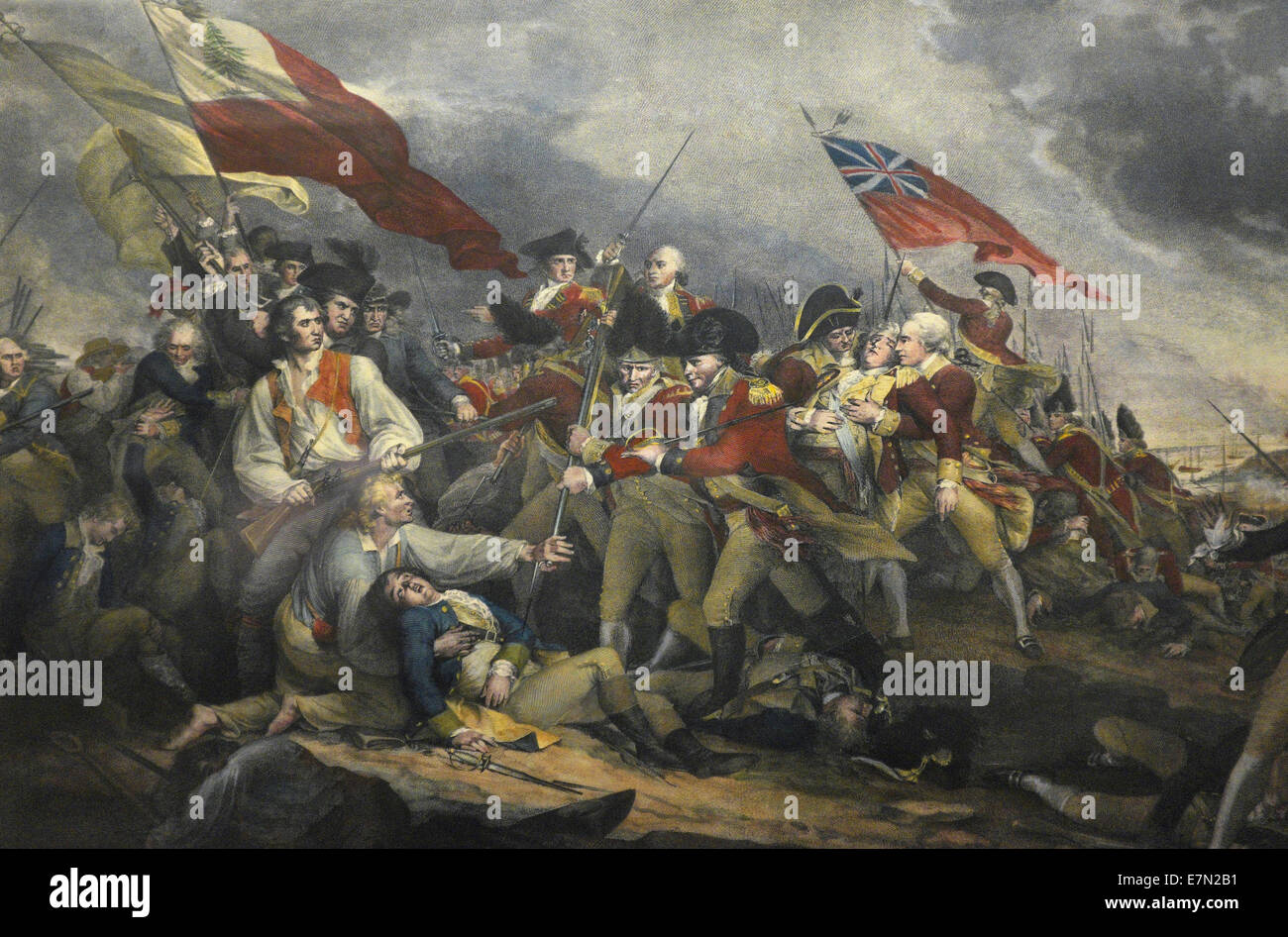the battle at bunker hill The battle of bunker breeds hill the glorious cause for american independence.