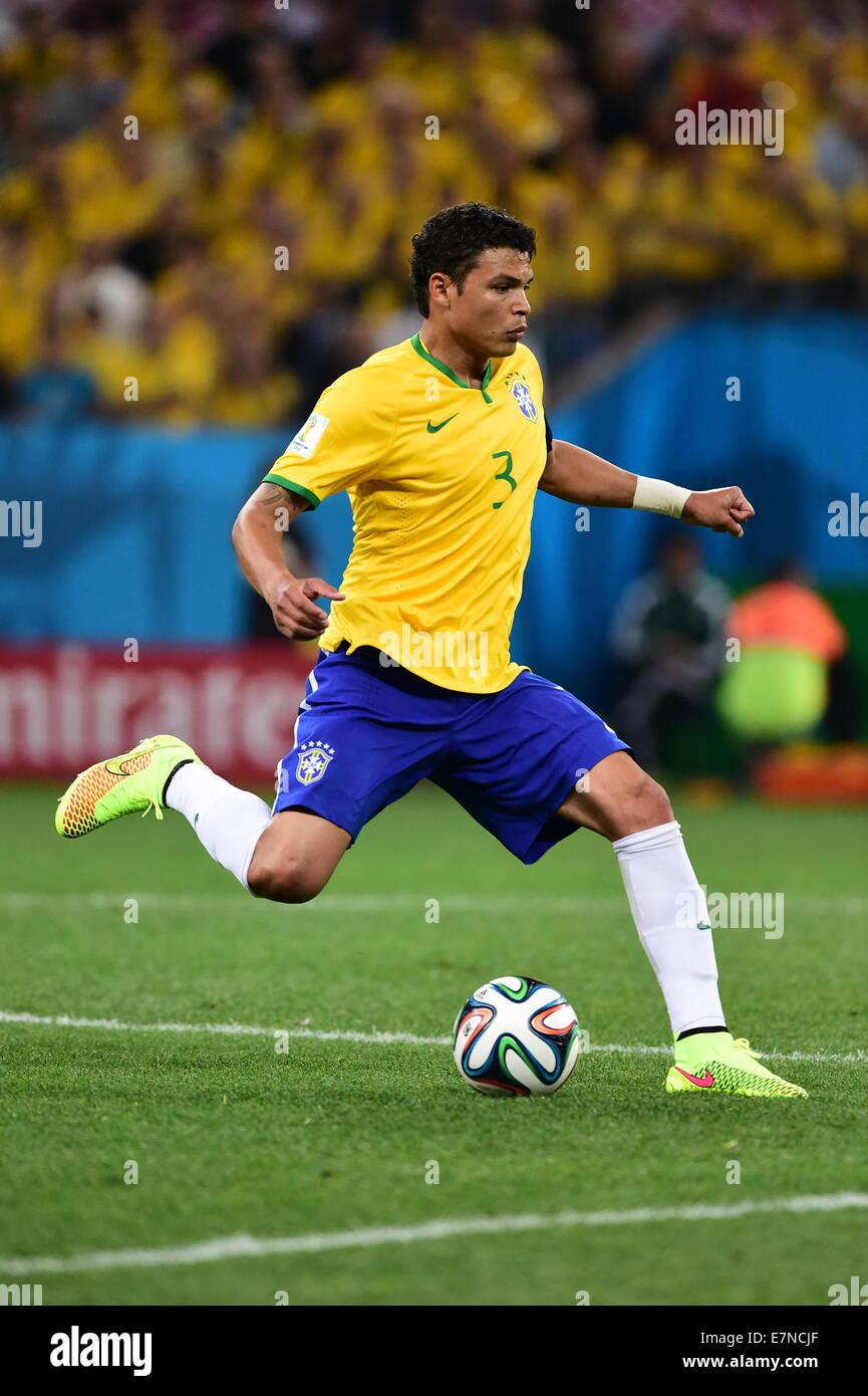 Thiago Silva Brazil v Croatia group match FIFA World Cup 2014