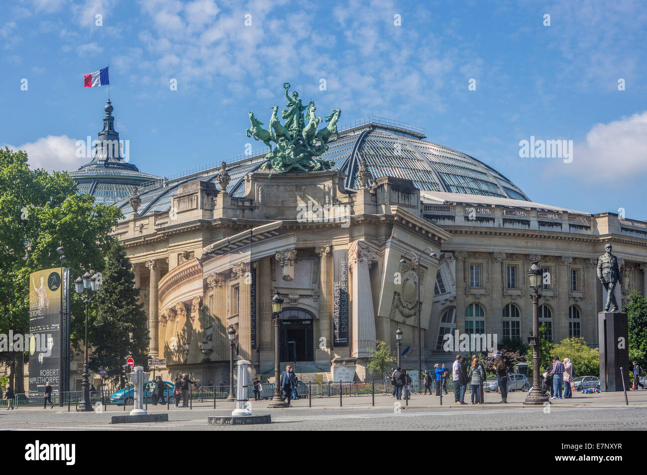 City entrance france grand palais paris architecture art stock photo royalty free image - Grand palais expo horaires ...