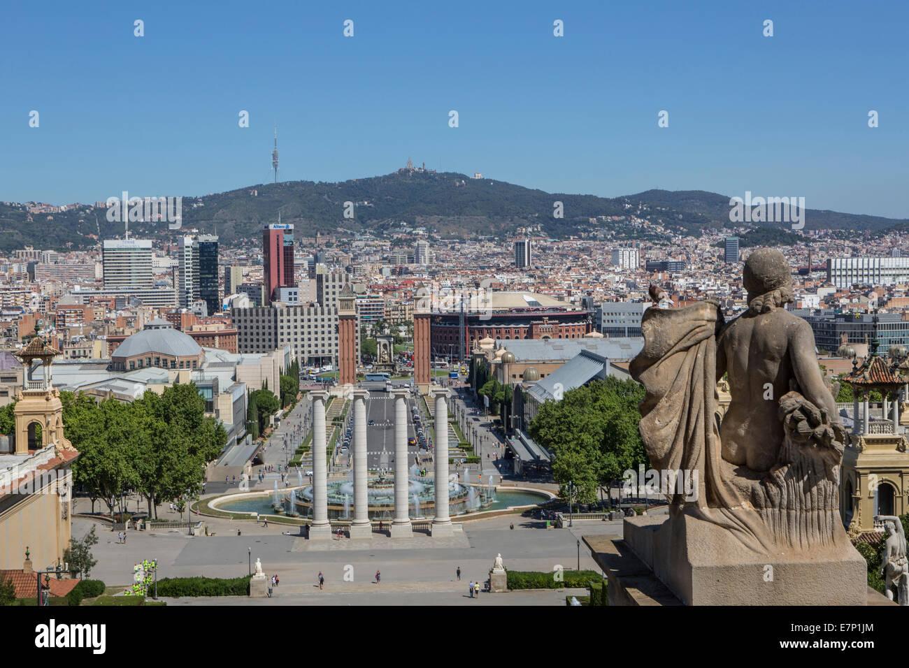 Espana Square, Sans, architecture, Barcelona, Catalonia