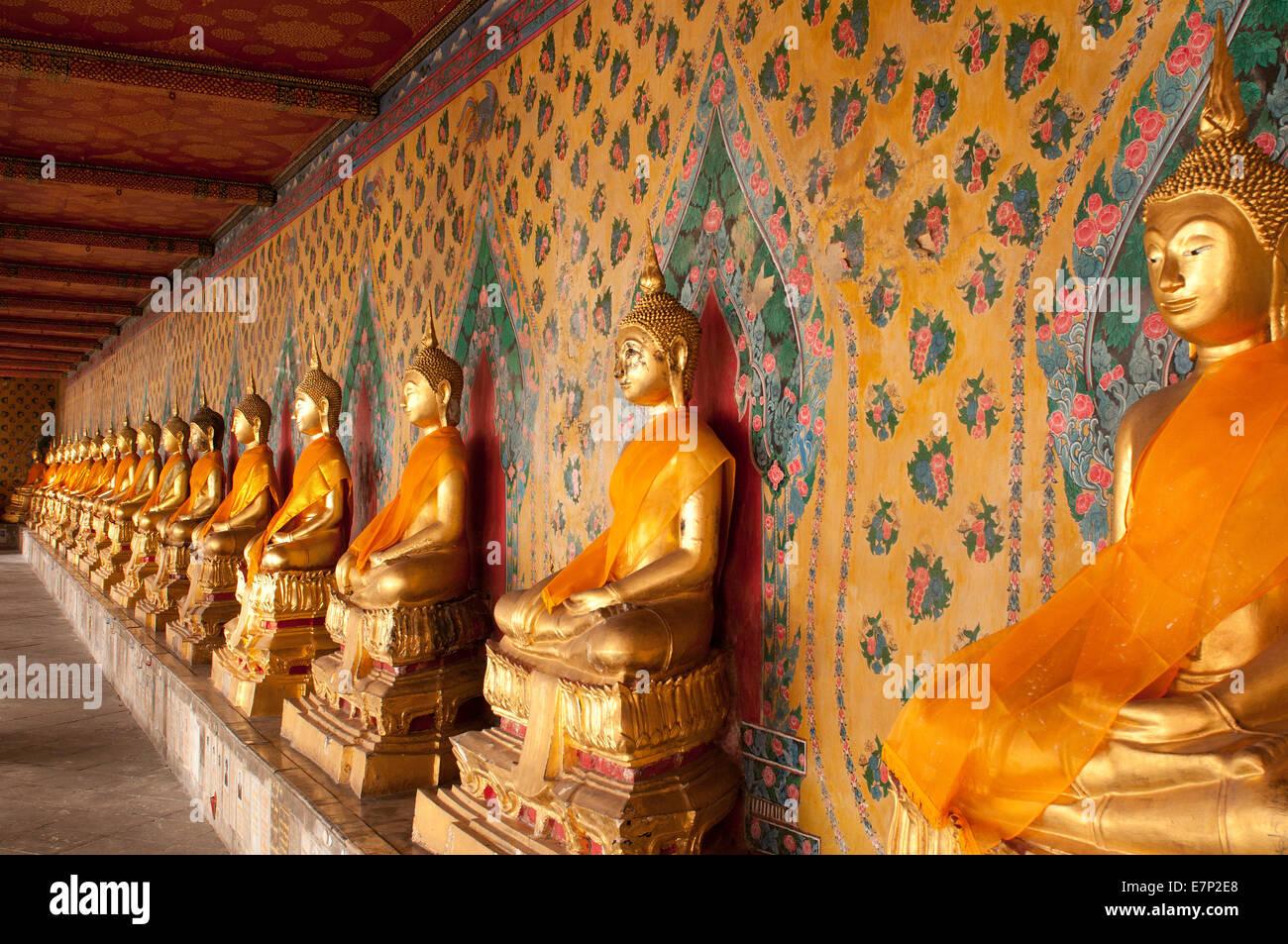 Gallery Buddhas Wat Arun Bangkok Thailand Asia Religion - Thailand religion