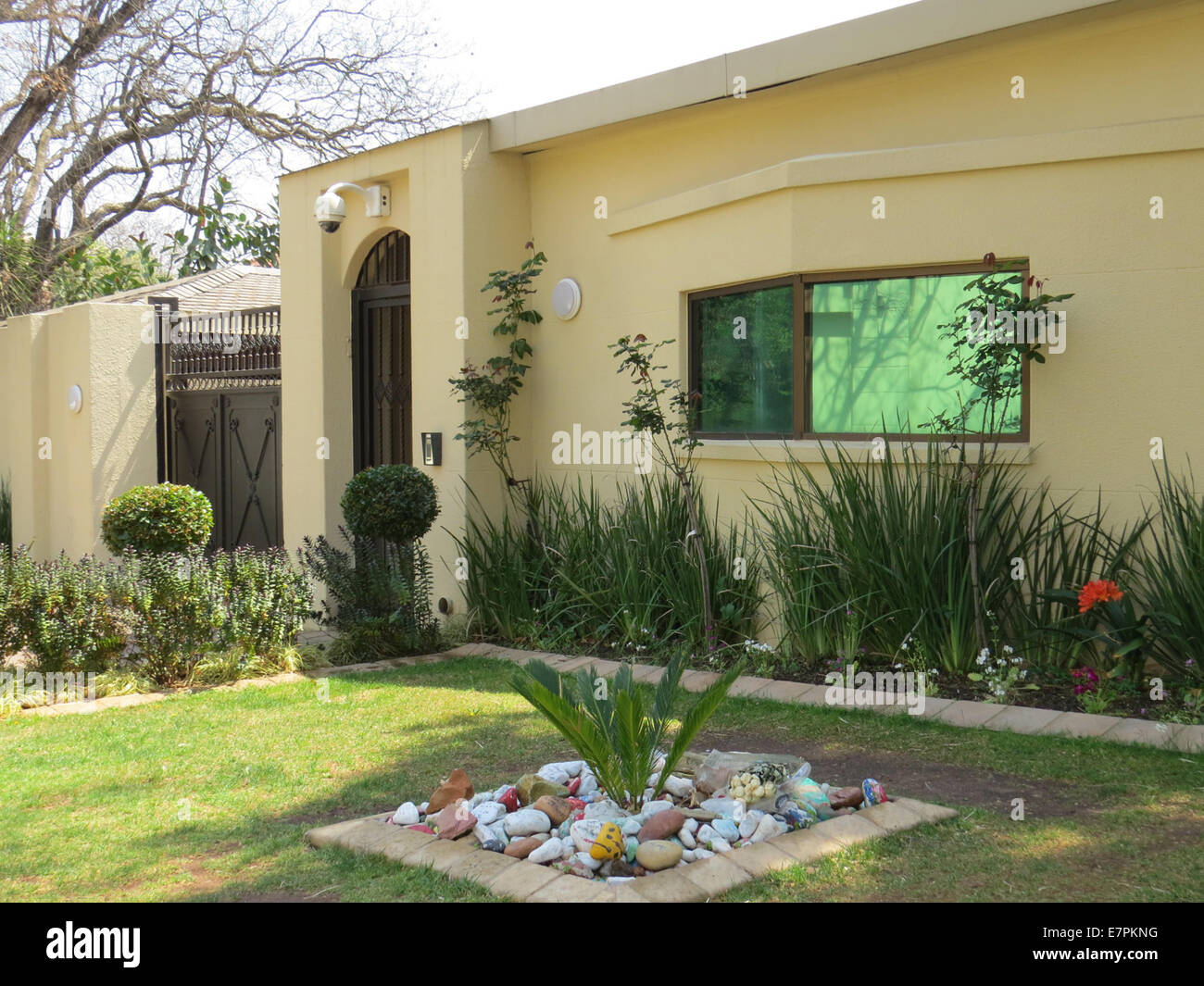 Nelson Mandela 39 S House In Houghton Johannesburg Where He Died On 5 Stock Photo 73642508 Alamy