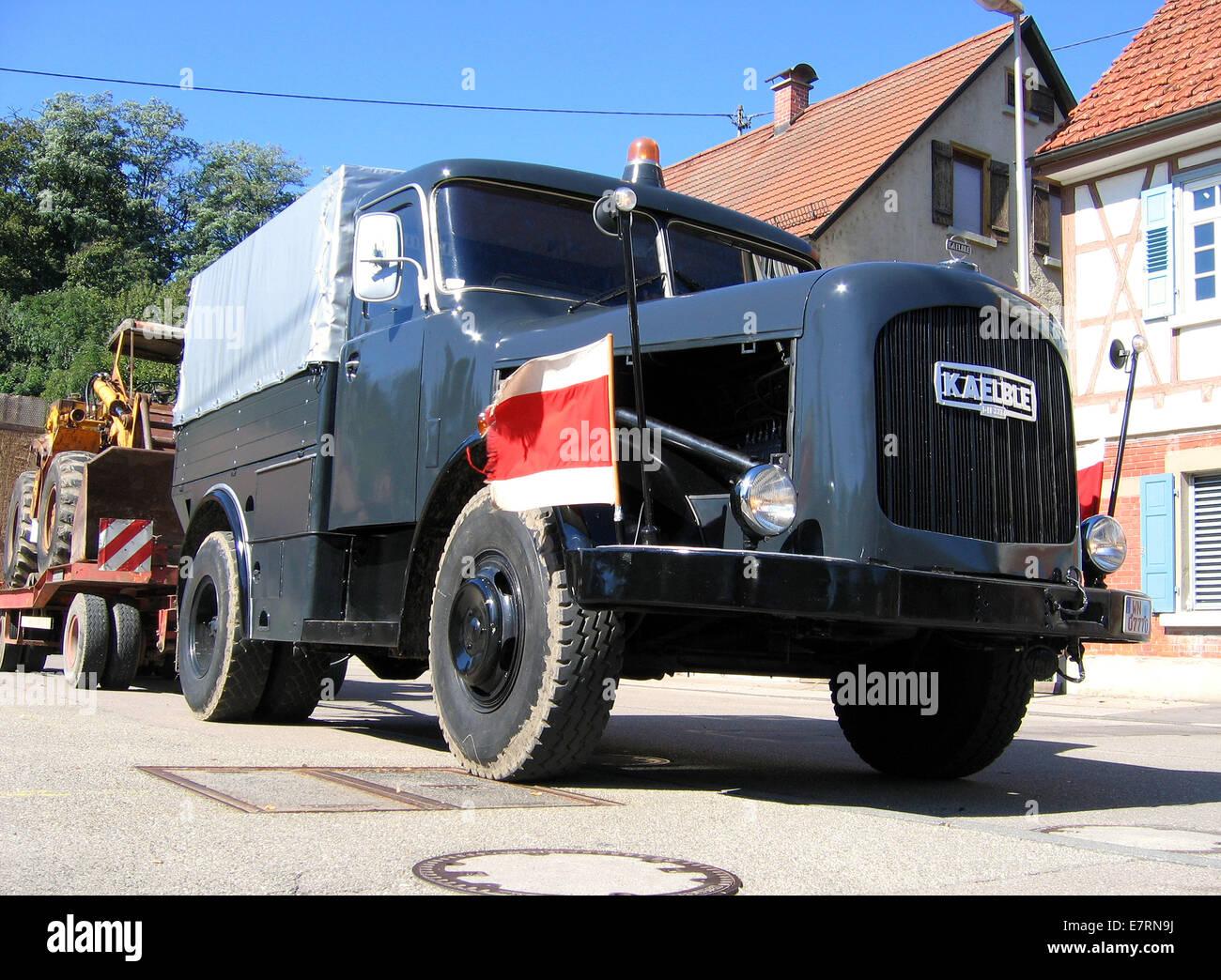 kaelble k 631 zr oldtimer truck german railroad backnang. Black Bedroom Furniture Sets. Home Design Ideas