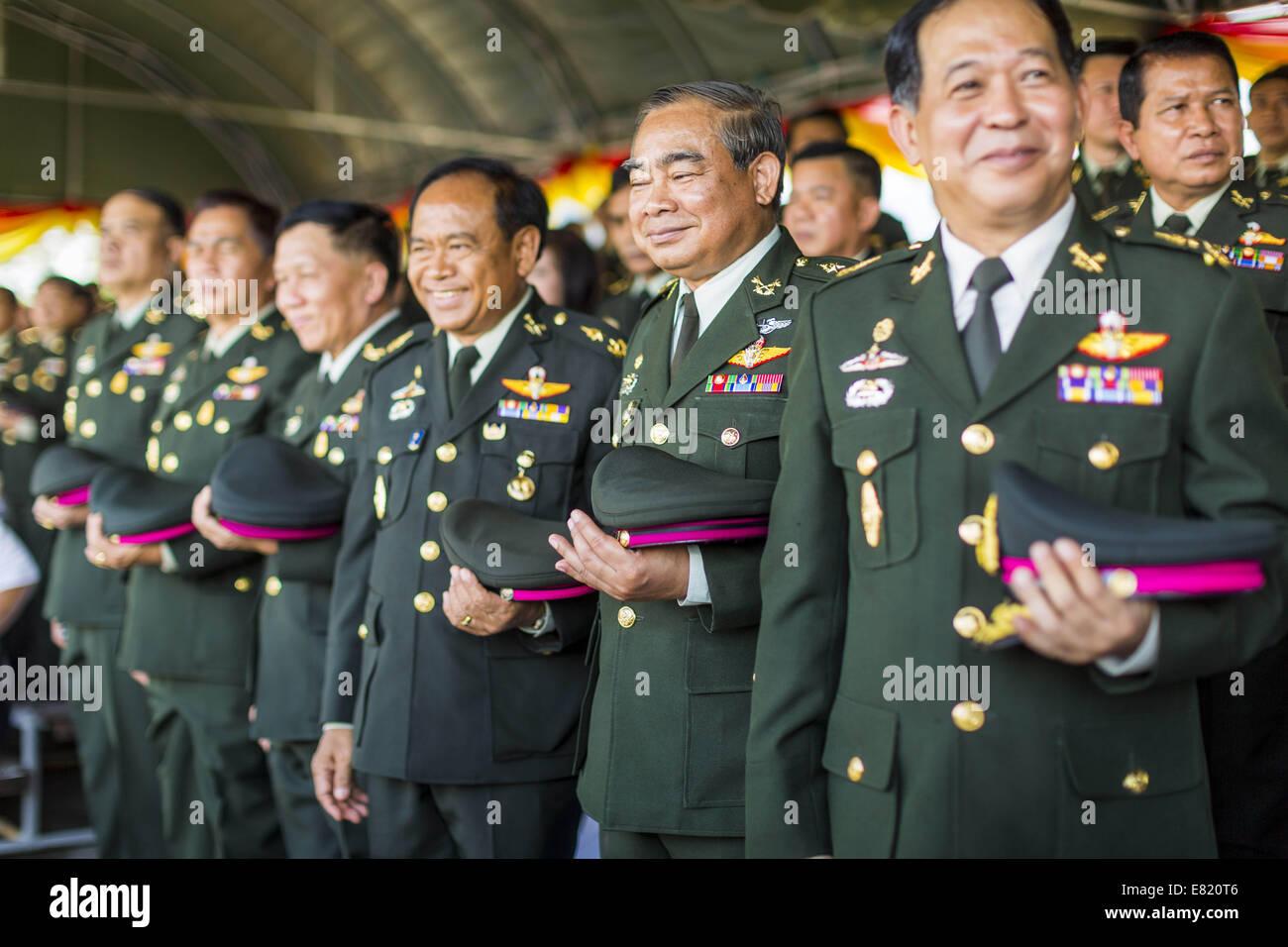 Nakhon Thai Thailand  city photos : Nakhon Nayok, Thailand. 29th Sep, 2014. Senior Thai Army Officers ...