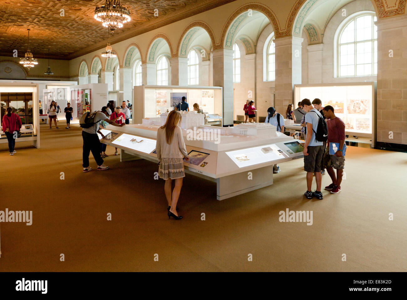 The White House Visitor Center Interior
