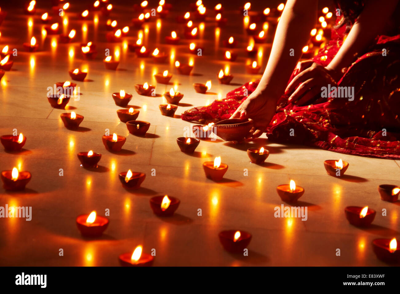 Indian Festival Diwali Decoration Stock Photo Royalty Free Image 73845675 Alamy