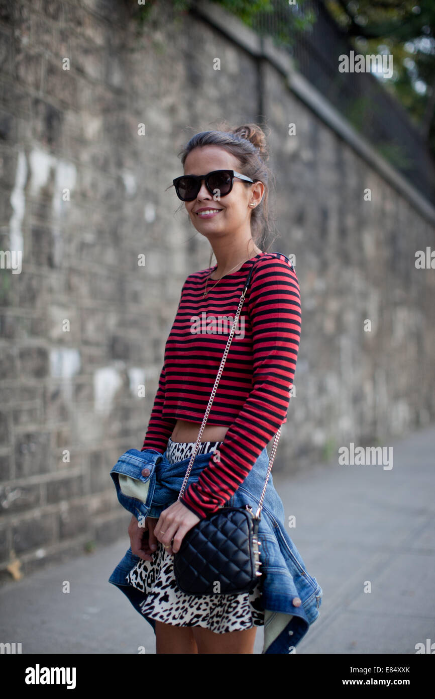 New York Women Fashion Week SS 2014 day 2 - Street Style Featuring ...