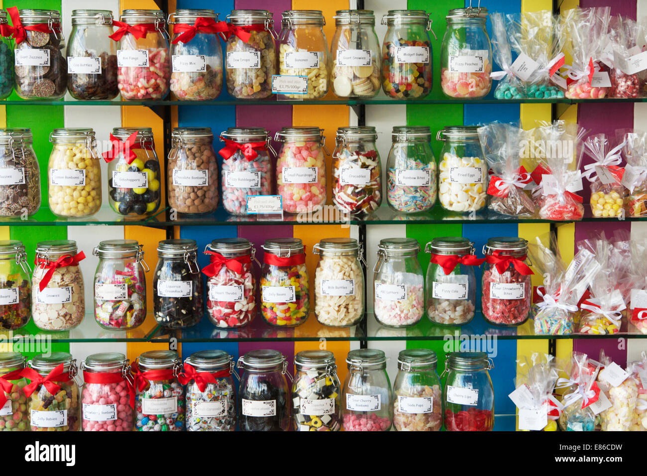 Old Fashioned Candy Jars Plastic