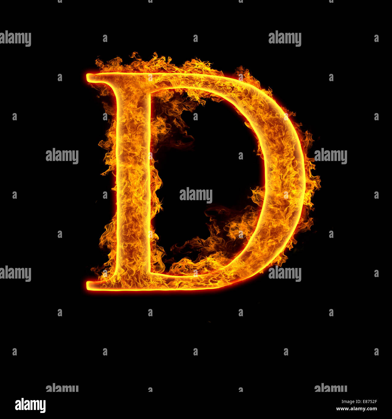 Fire alphabet letter d isolated on black background stock photo fire alphabet letter d isolated on black background altavistaventures Image collections