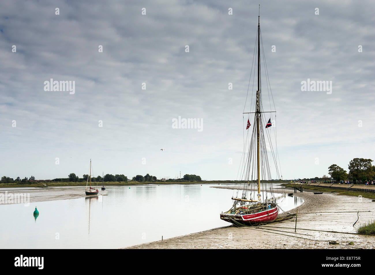 The old wooden fishing smack telegraph moored on the for 21 iceboat terrace for sale