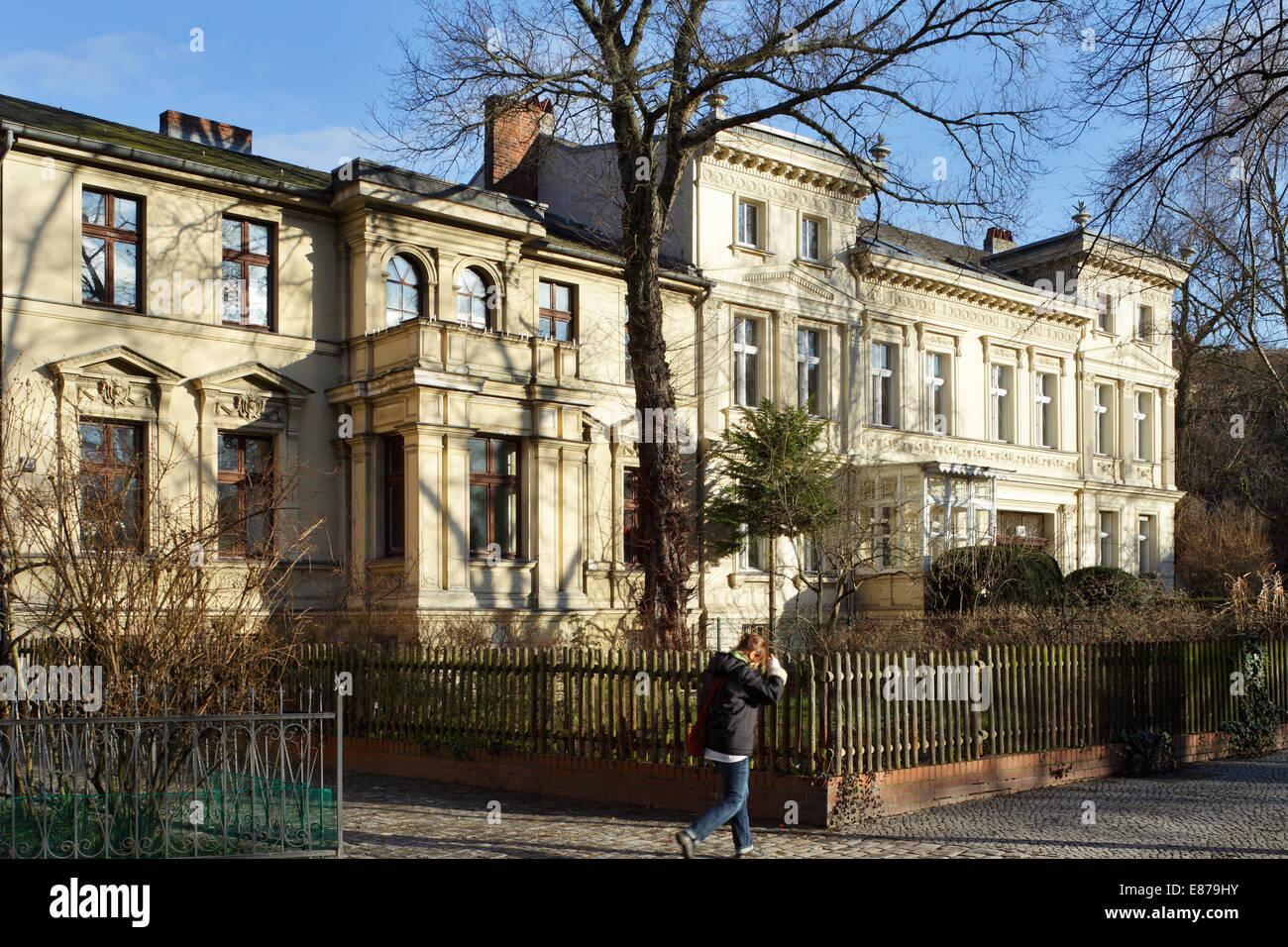 Villa Berlin berlin germany villa at the richard platz in berlin neukölln stock