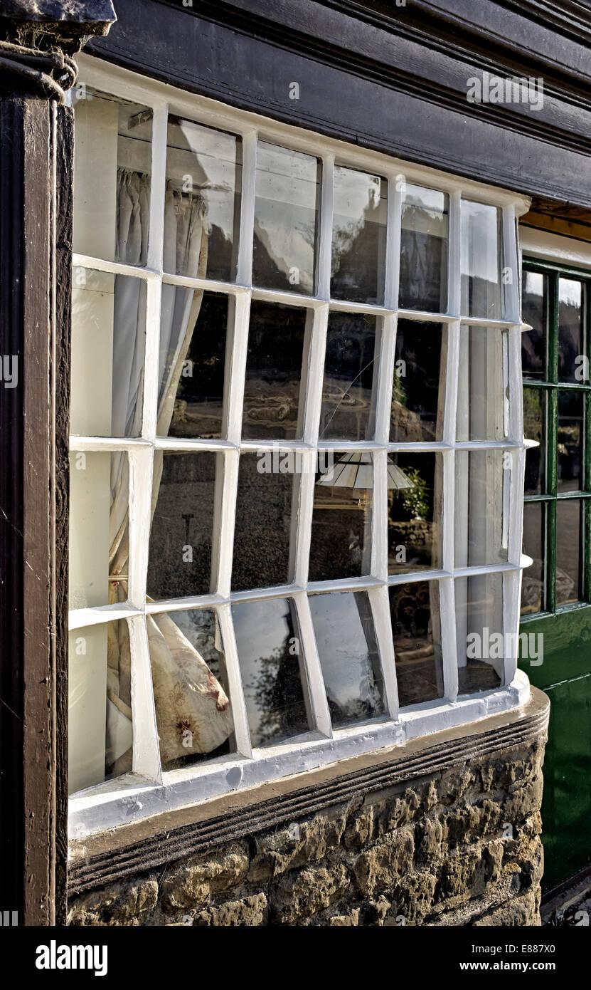 bow window creditrestore us crooked bow window english cotswold stone cottage stock image