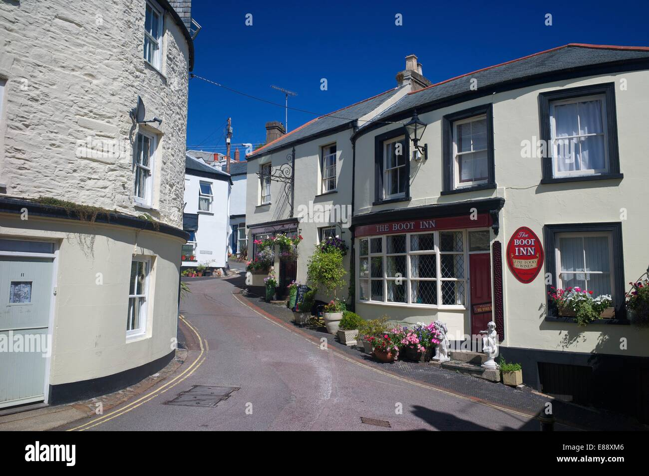 The Boot Inn Calstock Village Tamar Valley Cornwall England United Kingdom