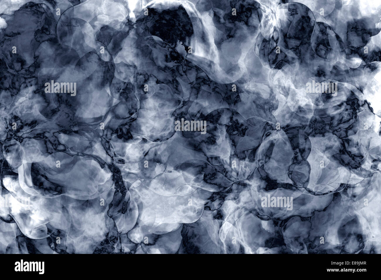 Blue And White Background Marble Wall Texture Stock Photo